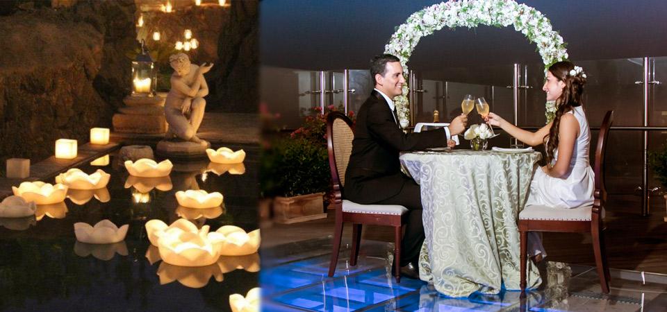 Belmond Miraflores Park ofrece cena romántica flotante