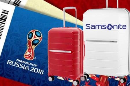 Samsonite lanza pack de maletas mundialistas de Perú a Rusia