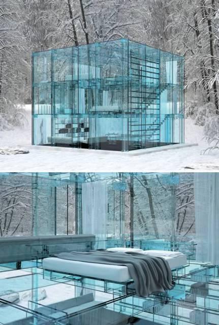 Lacasadivetroamilano  10 splendide costruzioni in vetro  Notizieit
