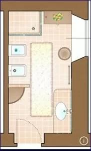 5 idee per strutturare ed arredare un piccolo bagno