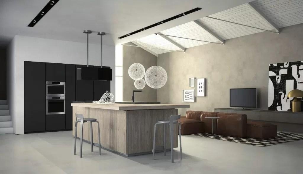 Cucine con isola le soluzioni possibili eleganti e