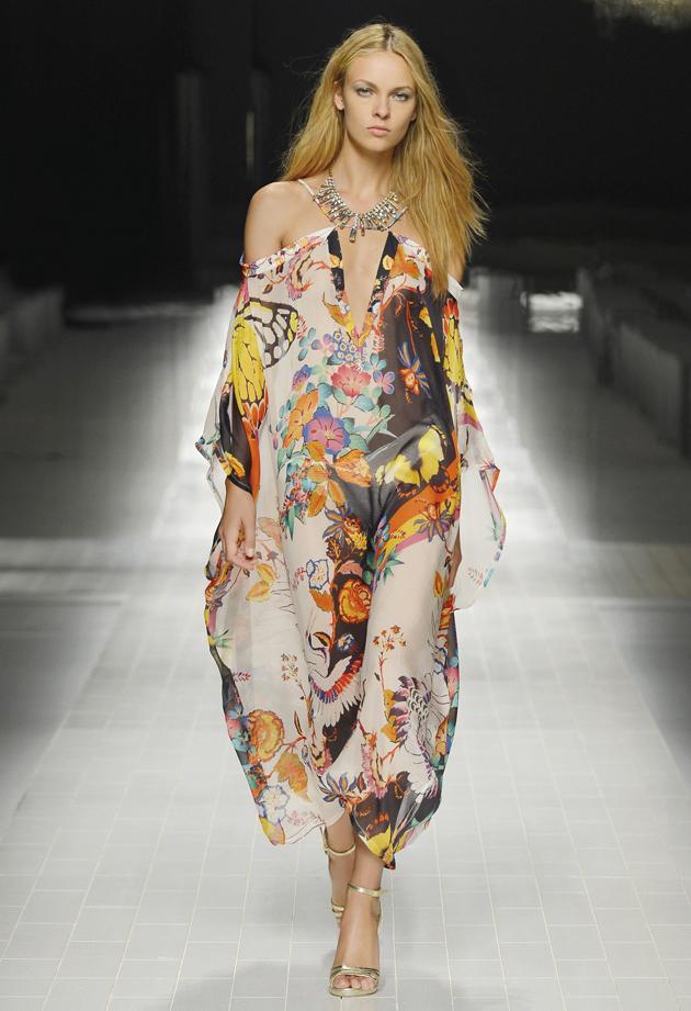 Caftano Blumarine primavera estate 2014 moda mare donna