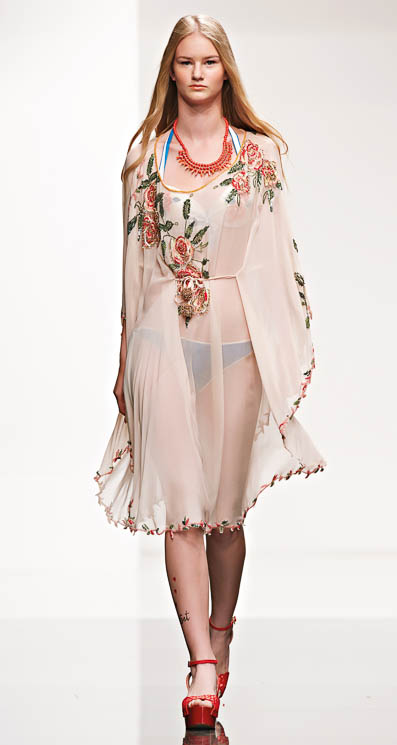 Copricostumi Twin Set estate 2014 moda mare 3