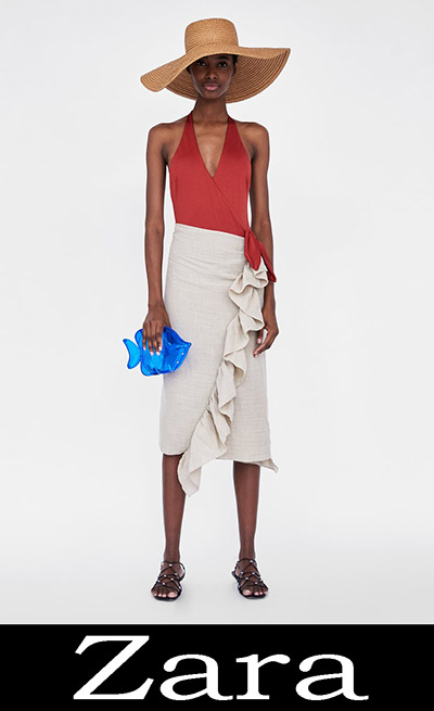 Costumi interi Zara 2018 nuovi arrivi costumi da bagno donna