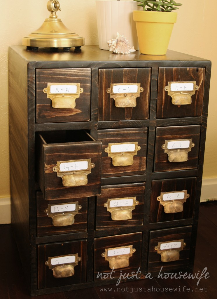 How To Build A Card Catalog  Stacy Risenmay