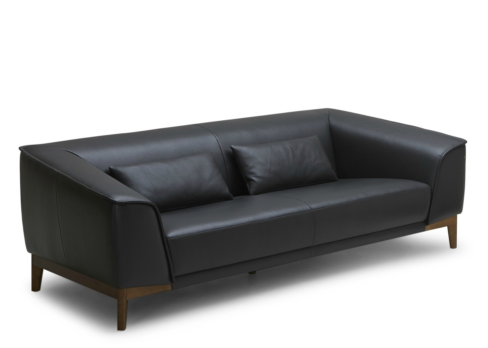 black and white leather sofa buy bed ebay 39milano 39 in not just brown