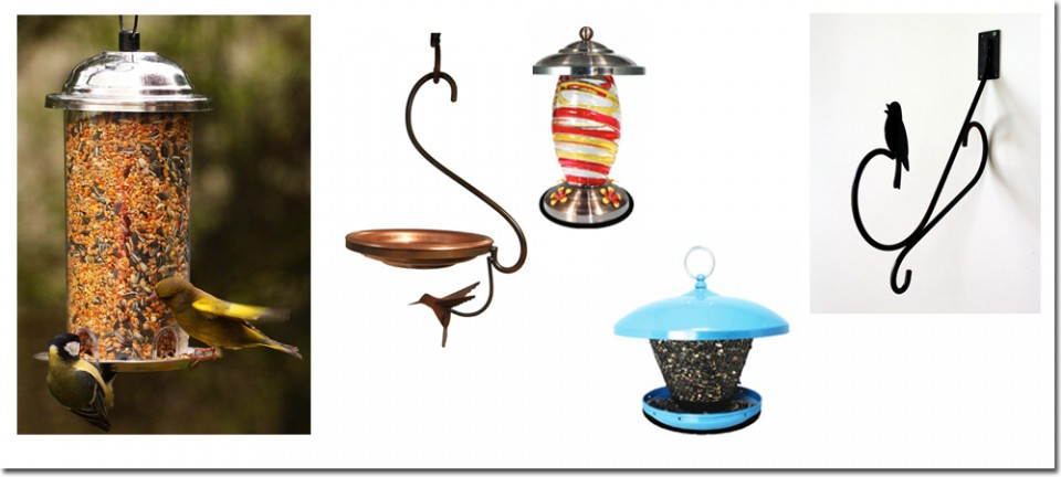 Decorative garden accents | decorative bird feeders