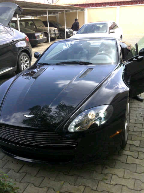 IMG 20111029 00146 Picture: Dbanj Unleashes New Aston Martin Vantage Car