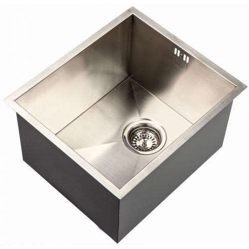 deep kitchen sink aid double oven zen uno 340 notjusttaps co uk extra
