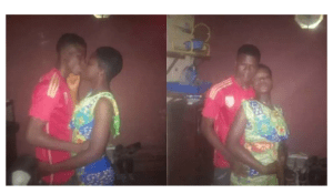 Photo: Heartbroken Nigerian Man Shares Romantic Photos of His Ex-Girlfriend Who Dumped Him