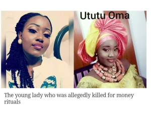 Nigerian man allegedly kills girlfriend for 'Yahoo plus' rituals