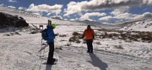 On the way to Meadow Hut