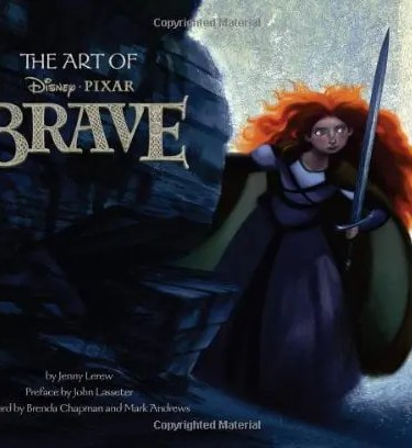 The Art of Brave Disney-Pixar Art Book
