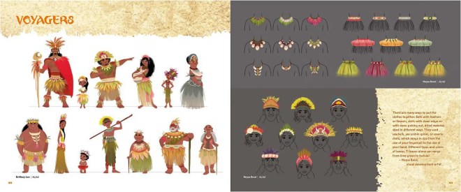 The Art of Moana (Vaiana) Disney | Art Book