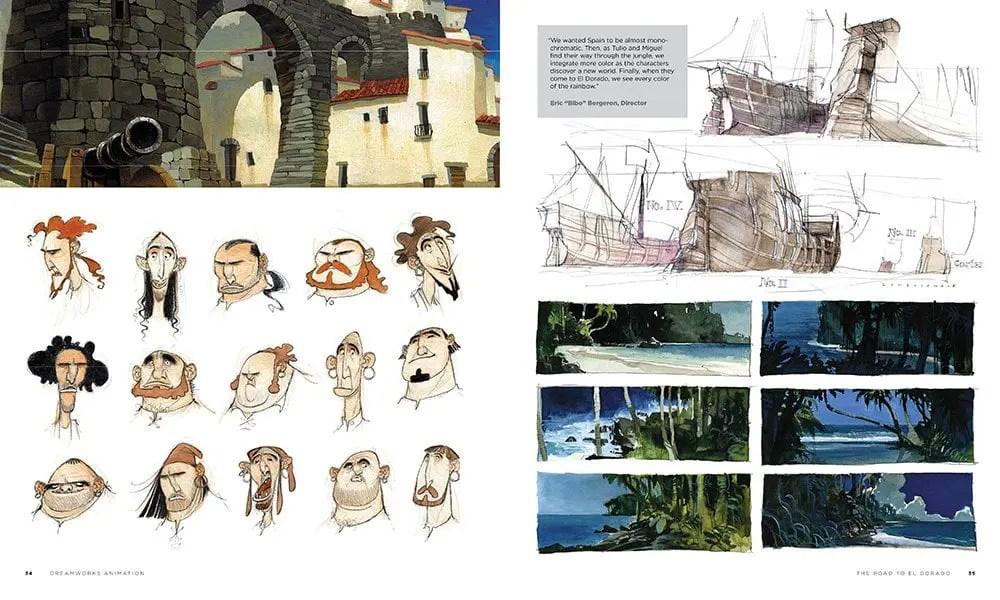 The Art Book DreamWorks Animation