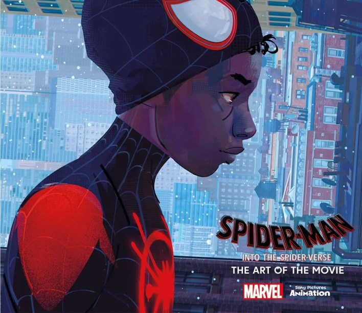 into the spider verse artbook