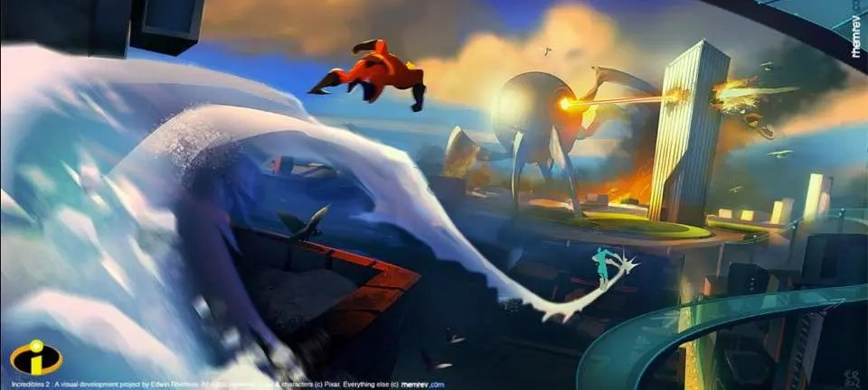 the art of the incredibles 2