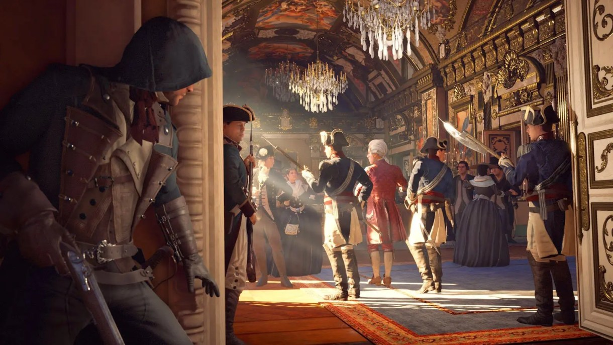 assassins creed unity cinematica gameplay