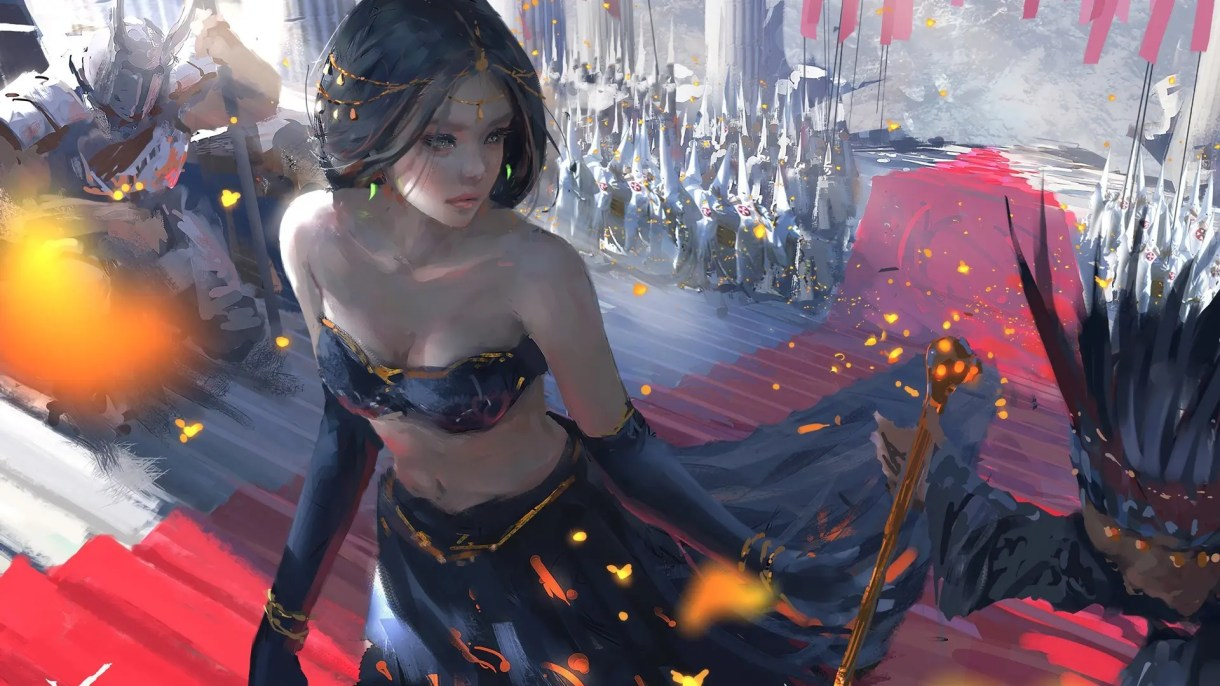 Tutoriales de Concept Art: Painting Process de Wang Ling