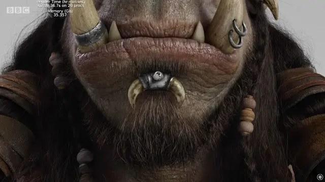 VFX y CGI, Diseño de Personajes, Creación de Masas, Pelo y Herramientas 3D en Warcraft