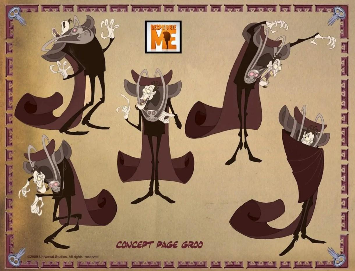 tips Diseño de personajes - Character Design Tips de Sergio Pablos - SPA STUDIOS