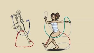 Tutoriales de Animación caminatas y paseos: Skip Animation – Felix Sputnik