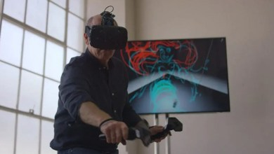 Photo of Tilt Brush & Glen keane