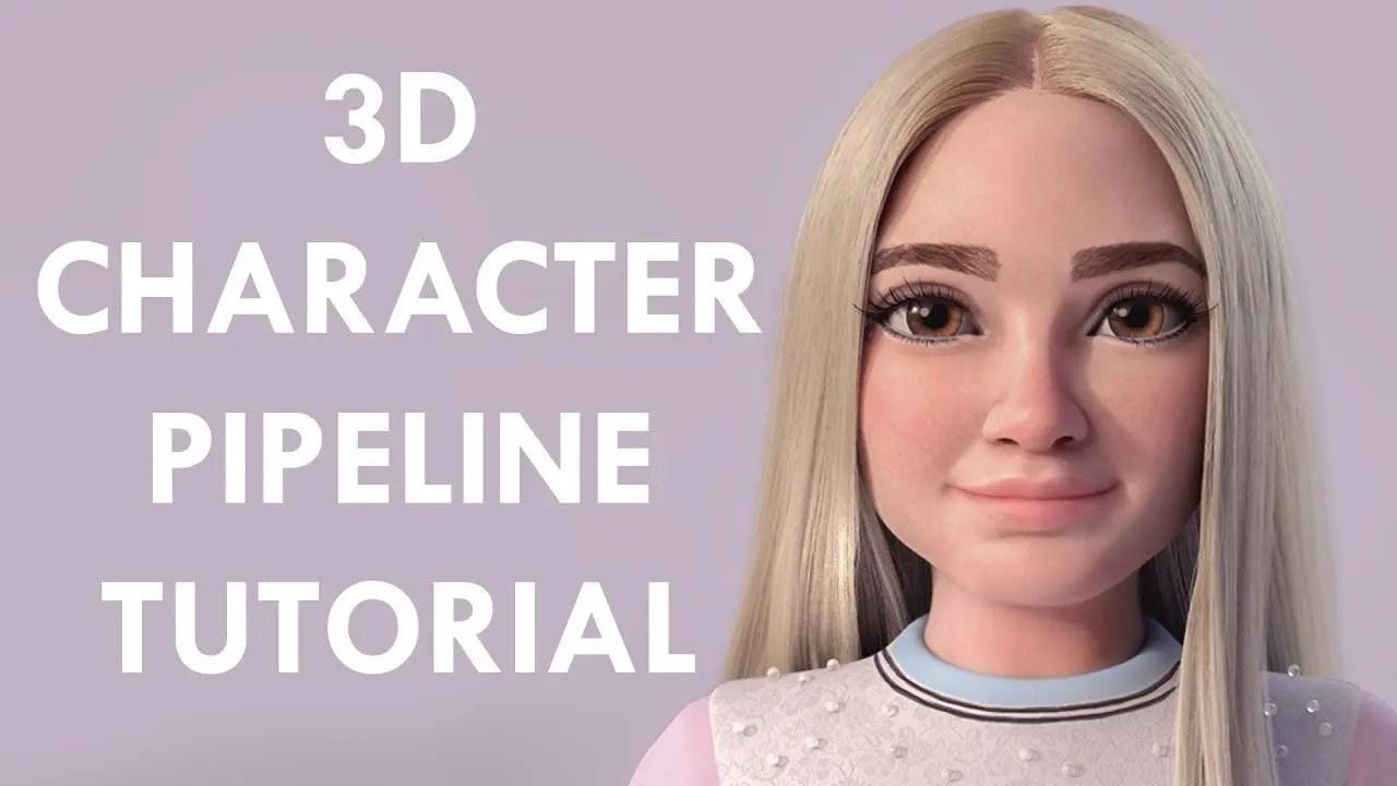 Tutorial 3D | Character Workflow para principiantes