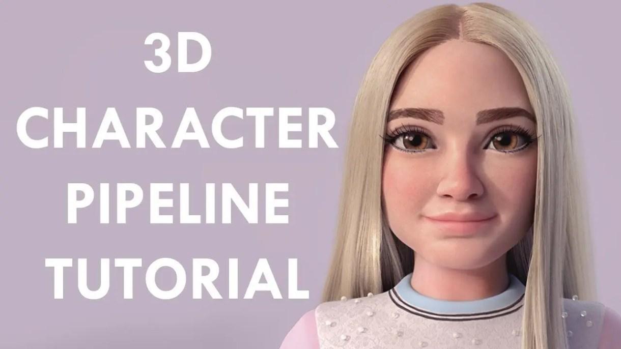 Tutorial 3D | creación de un personaje 3d