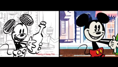Photo of Mickey Mouse Storyboard | Heiko von Drengenberg