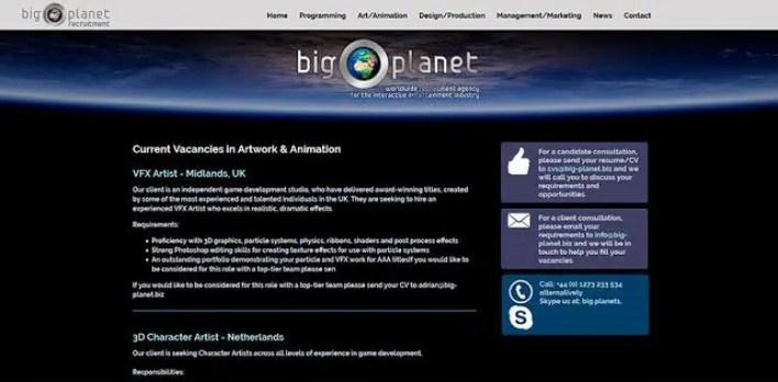portales de ofertas empleo animacion