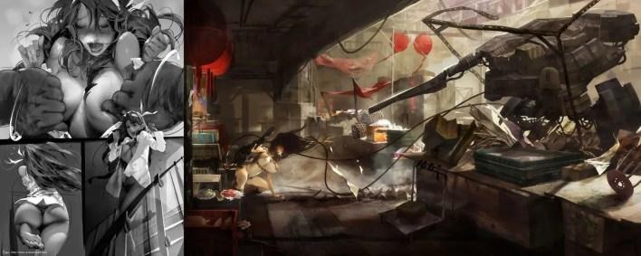 Concept Art: El Arte y Erotismo de Evan Lee
