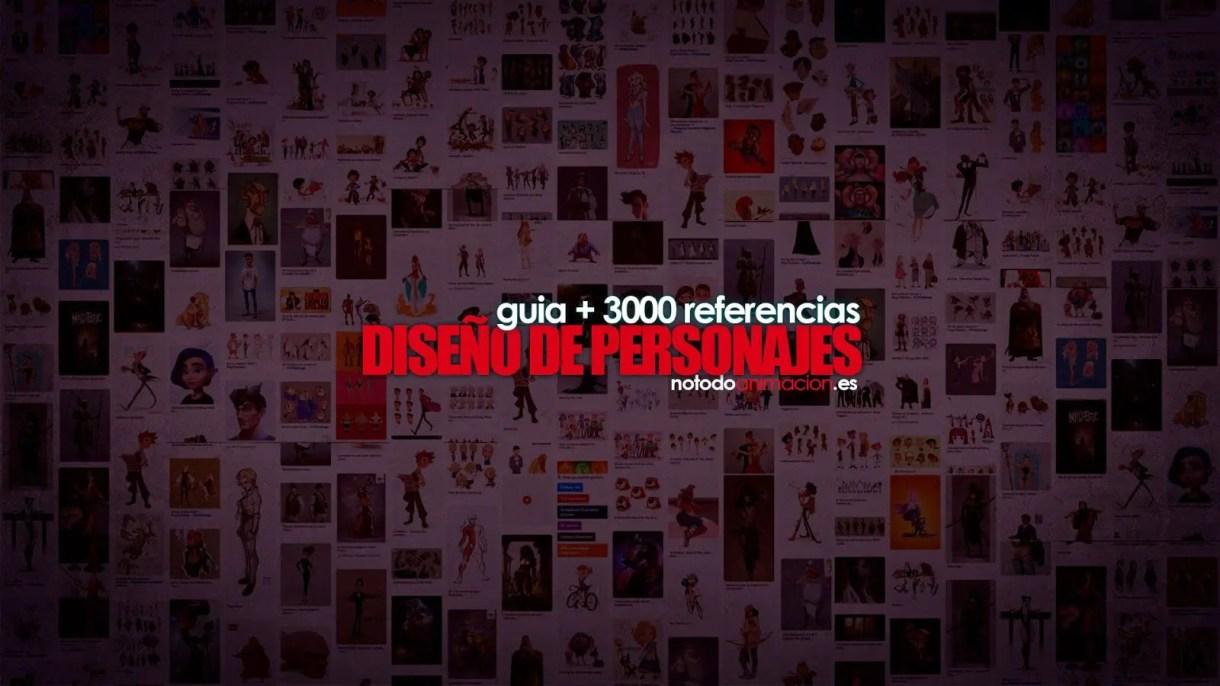 Inspiración y Referencias - Guia +3000 Diseño de Personajes
