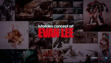 Photo of 20 Tutoriales de Concept Art – Evan Lee ⭐⭐⭐⭐⭐