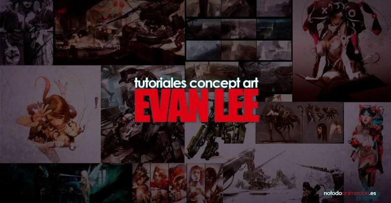 Tutoriales de Concept Art - Evan Lee