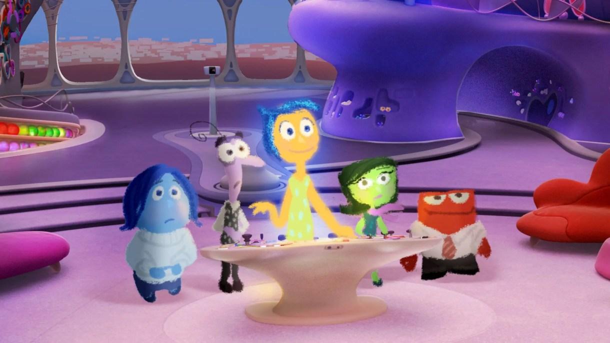 diseño de personajes - El arte de Inside Out: Todo el Desarrollo Visual y libro de Art Of Inside Out (Película de Disney-Pixar) Color Script y Concept Art