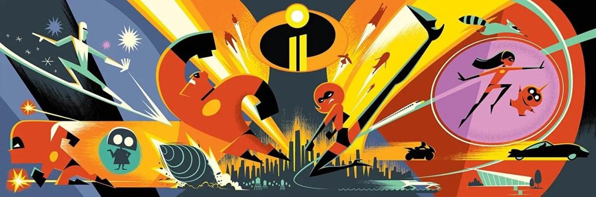 Películas de Animación 2018 (Disney - Pixar) - Los increibles 2