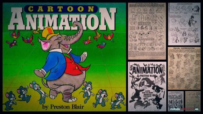 Los 5 mejores Libros para aprender Animación - cartoon animation