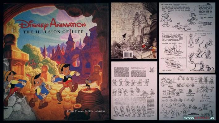 Los 5 mejores Libros para aprender Animación - the illusion of life