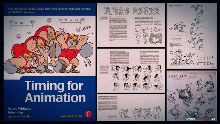 Los 5 mejores Libros para aprender Animación - timming for animation