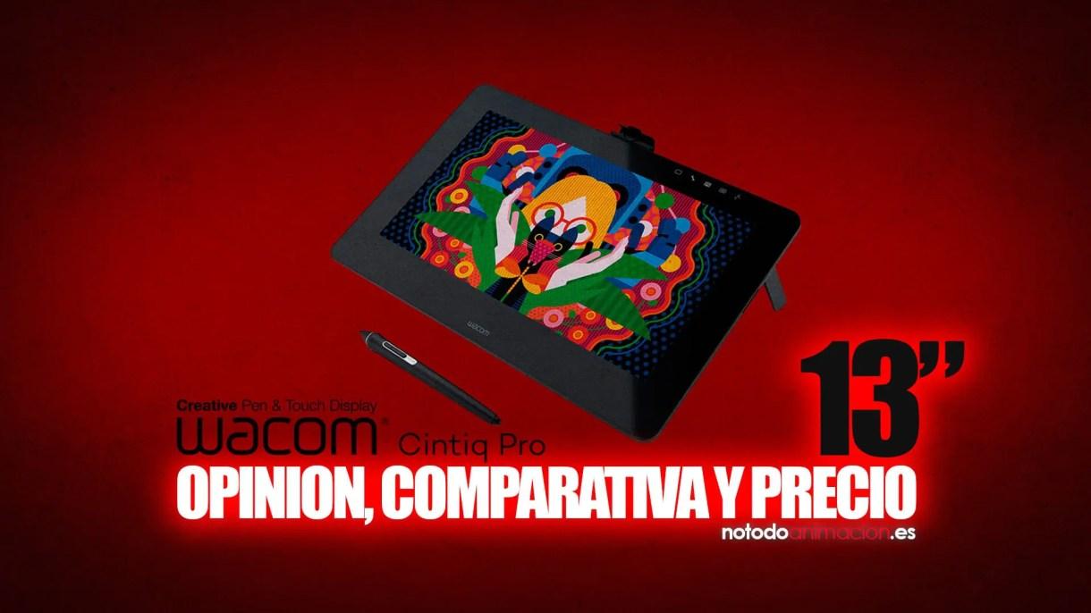 Wacom Cintiq Pro 13 - opinión, comparativa y precio (review 2018) comprar tienda online