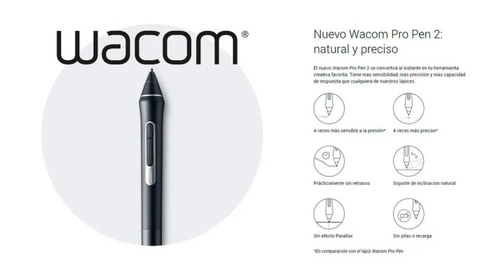 wacom intuos pro - pro pen 2