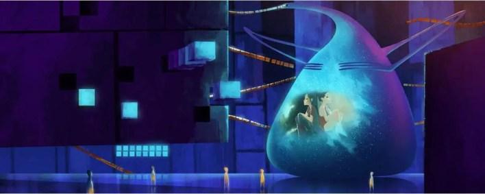 Concept Art - El arte de Inside Out: Todo el Desarrollo Visual y libro de Art Of Inside Out (Película de Disney-Pixar) Color Script