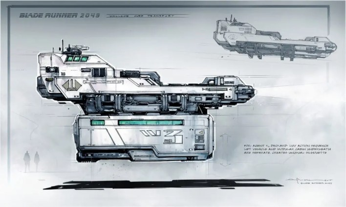 Blade-Runner-George-Hull-Concept art-ilustración