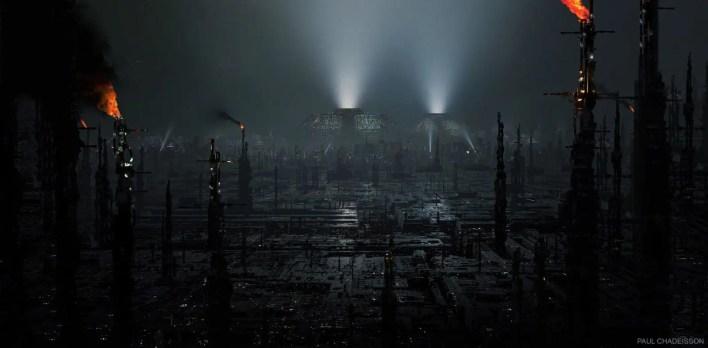 Paul Chadeisson-concep art-ilustración-Blade Runner 2049