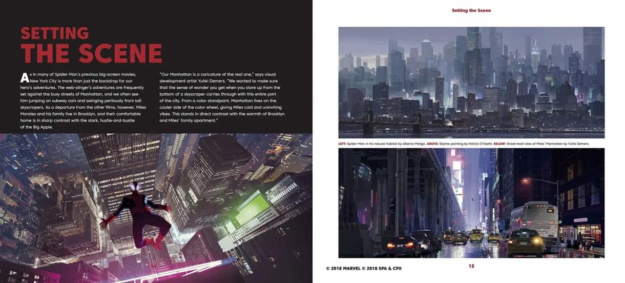 Spider-Man un nuevo universo art book