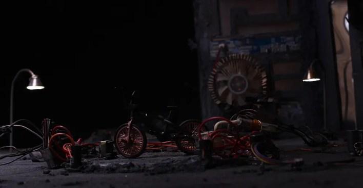 Voyage-cortometraje de animación-escenarios-stop motion-animación 3d