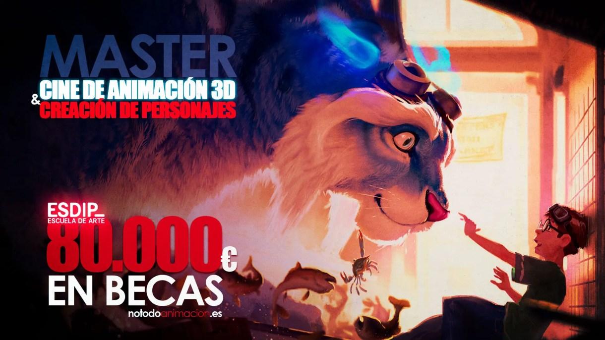 Curso de Animación 3D y Creación de personajes - Becas ESDIP