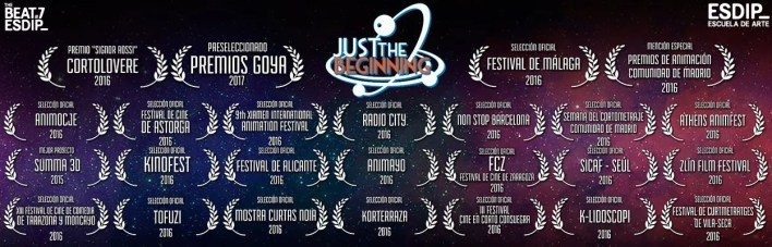 Just The Beginning - Cortometraje de Animación JTB_cristal-retake_01_web_logo