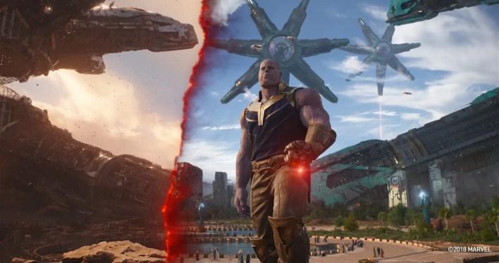 Avengers Infinity War-VFX-Animación 3d-CGI